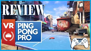 VR Ping Pong Pro Review (Video Game Video Review)