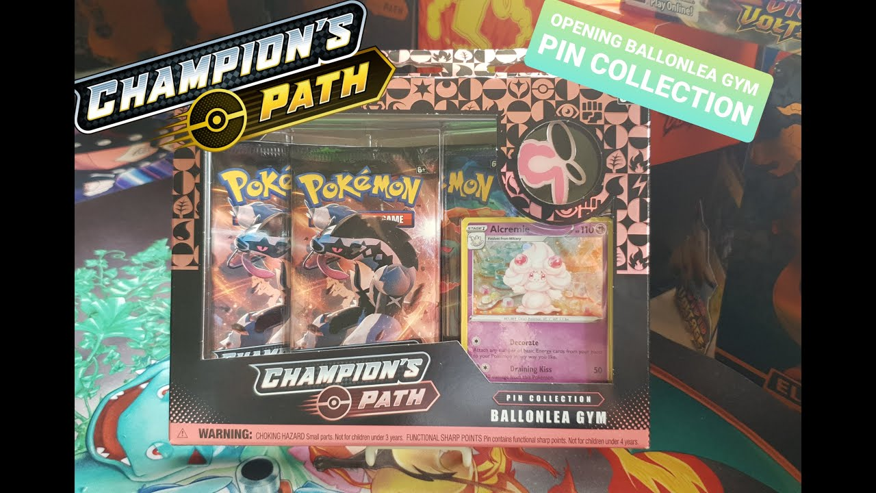 Opening Ballonlea Gym Pin Collection Youtube The ballonlea gym's leader is opal and it is the fifth galar gym. youtube