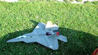 F-22 Parkjet R/C 64mm EDF: Low & Slow High Alpha