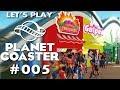 Planet Coaster Deutsch #5 Mehr Shops! Planet Coaster German Deutsch Gameplay