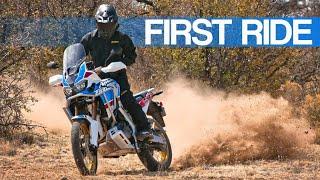First Ride | Honda Africa Twin CRF1000L2 Adventure Sports