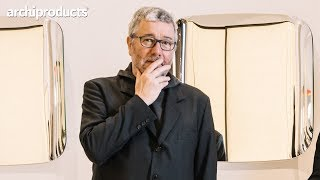 Salone del Mobile 2019 | GLAS ITALIA - Philippe Starck presents Mari Cristal, Lady Hio. and Marlene