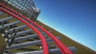 planet coaster beta rmc hybrid coaster pov
