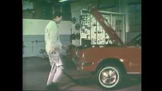 1966 Ford Mustang Commercials (2 of 9) Dancing Mechanic TV Ad