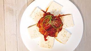 tofukimchi, 두부김치[COOKHAJA]