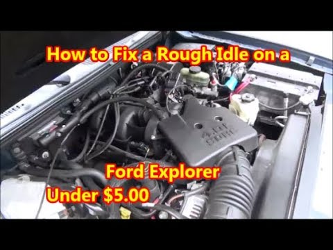 How to Fix a Rough Idle on Ford Explorer! PCV Vacuum Leak $500  YouTube