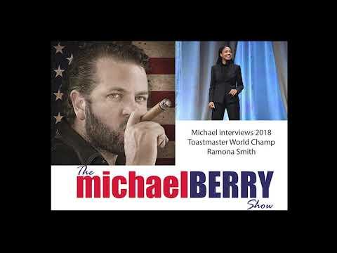 Michael Berry - 2018 Toastmaster Champion Ramona Smith