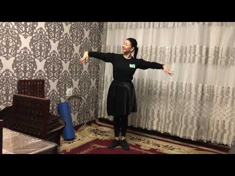 Видео урок узбекского танца