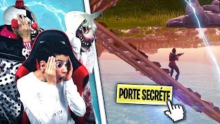 ON TROUVÉ THE SECRET ENDROIT OF THE MAP ON FORTNITE BATTLE ROYAL!!