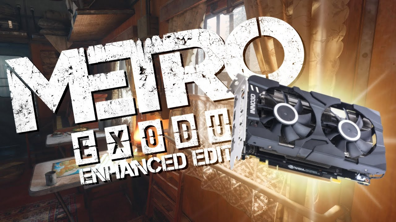 Metro Exodus Enhanced Edition WITH Ray Tracing on The RTX 2060!?