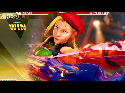 Street Fighter V @Canada Cup Master Series 2018 Bracket Matches Part 8