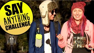 ♥ Say Anything Challenge - Med Tomu