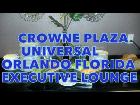 Crowne Plaza  Orlando Executive Lounge Breakfast
