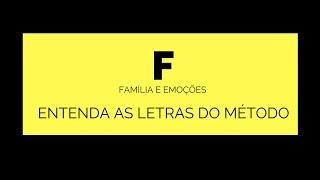 método efp entenda a letra f família e emoções