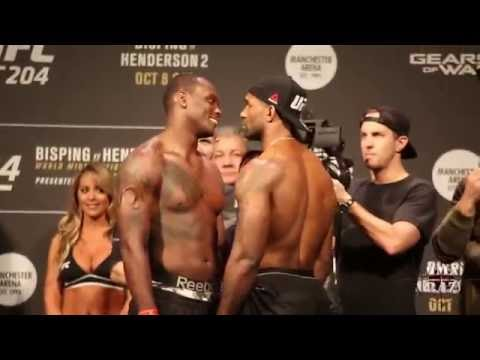 UFC 204: Ovince Saint Preux vs. Jimi Manuwa weigh in face off