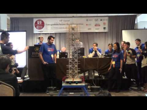 Cal Seismic Team GM3 Shake at 2016 EERI Competition