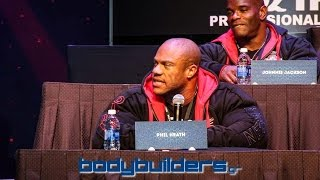 Phil Heath About Kai Greene