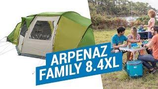 видео палатка для семейного отдыха