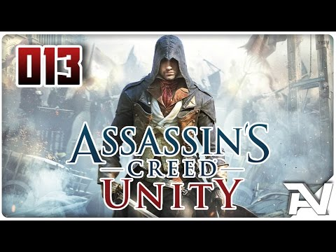 Let's Play Assassins Creed Unity (German/HD+) #013 [Café Theatre Missionen 2/2]