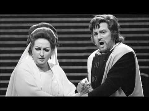 Nicolai Gedda delivers Gorgeously the usually omitted D5 of the Verdian Duet