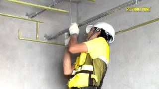 Trần thạch cao giật cấp hở dạ đèn Vĩnh Tường BASI (2014 - cũ)