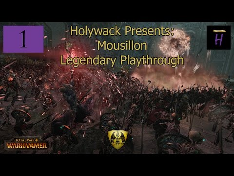Totalwar: Warhammer ► Legendary Mousillon Playthrough Part 1 - The Undead Never Dies