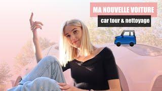 MA NOUVELLE VOITURE !! CAR TOUR + NETTOYAGE 🧼 🚗