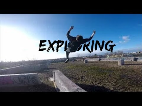 Exploring and Parkour | Abandoned Building