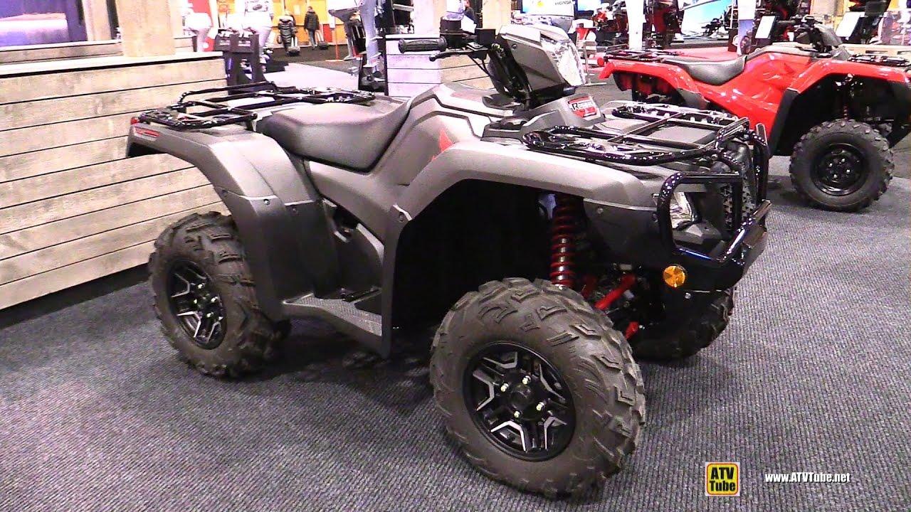 2017 Honda Foreman Rubicon 500 Utility ATV - Walkaround - 2017 Toronto Boat Show - YouTube