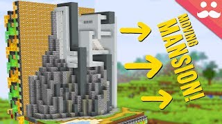 Moving Cliffside Mansion with Honey Blocks