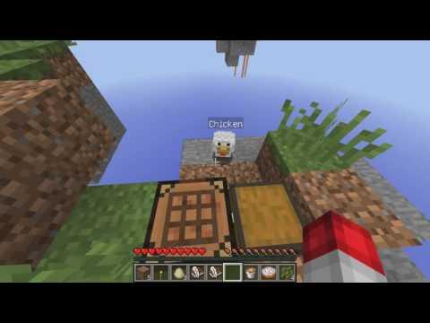 Minecraft небесное выживание #1: бесконечный камень.