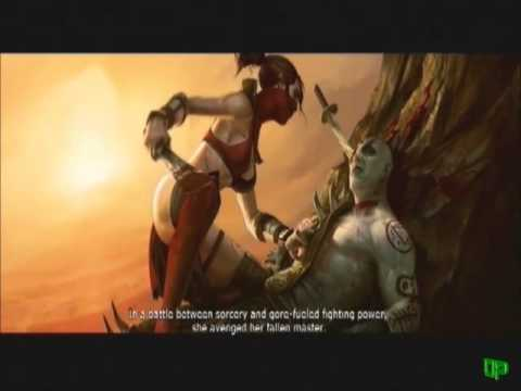 Mortal Kombat 9 - Skarlet's Introduction To Battle ...
