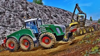 Farming simulator 2017 Forestry with FENDT TRISIX