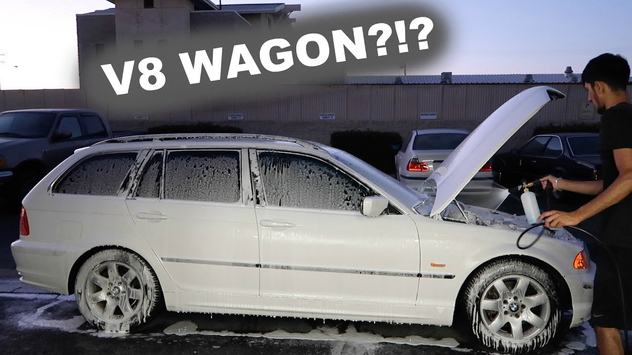 Should We V8 The BMW E46 WAGON?