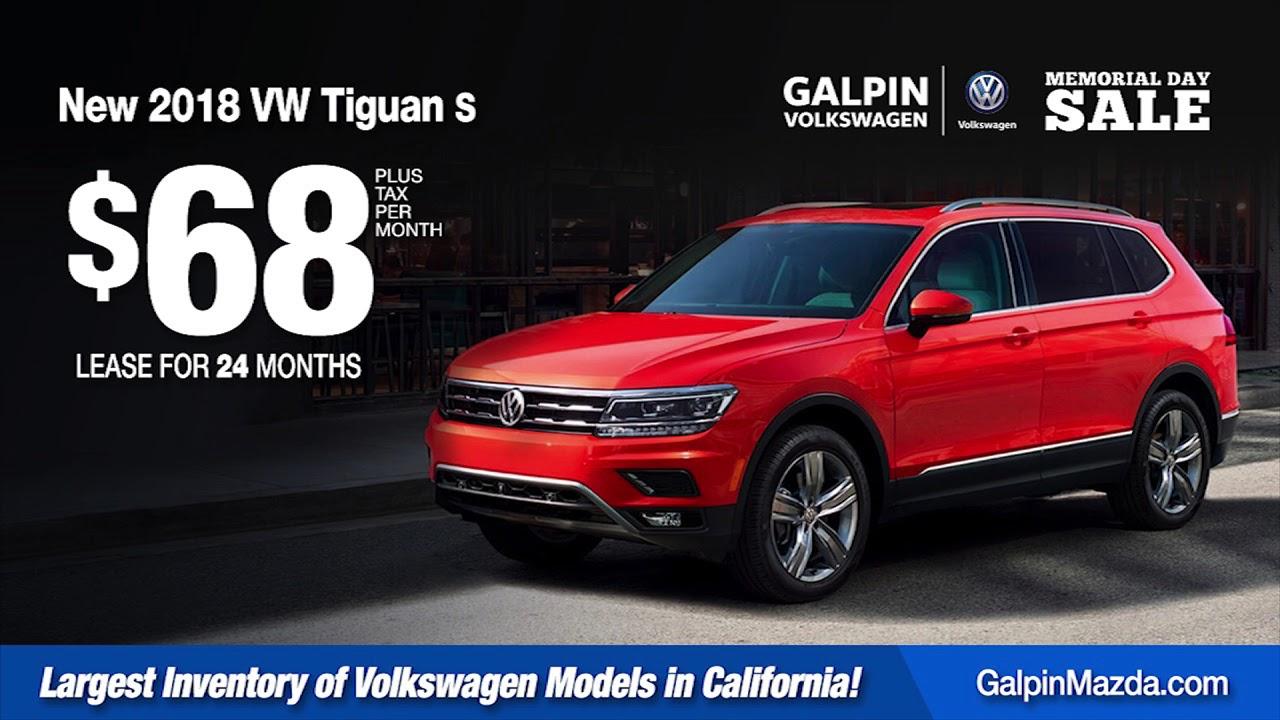 Galpin Vw Memorial Day Sale Youtube