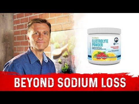 Dr. Berg's Electrolyte Powder for Exercise: Beyond Salt Loss