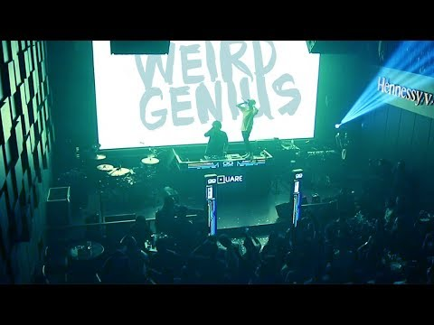 VJing for WEIRD GENIUS at SQUARE CLUB BATAM