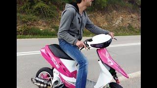 Honda Dio Malossi Having Fun