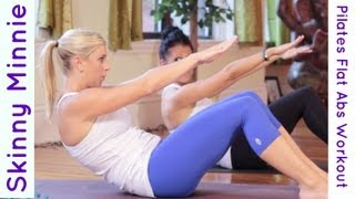 Pilates Flat Abs Workout | Skinny Minnie 5 minute Follow Along Core Routine