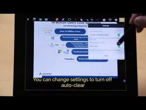 Presentation Tools in Splashtop Classroom - tutorial