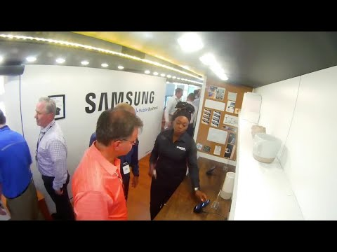 Driving Innovation: Take a Tour of the Samsung Bus