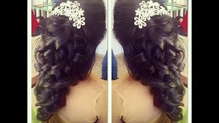 Romantic Prom Hairstyle
