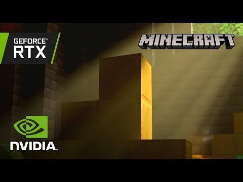 Minecraft with RTX | Official GeForce RTX Ray Tracing Reveal Trailer