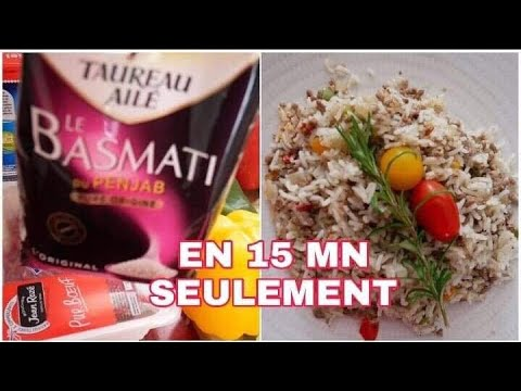 [riz-basmati]-riz-À-la-viande-hachÉe-en-15-mn-/proudjoslyne-#cuisinerapide-#cuisinefacile-#