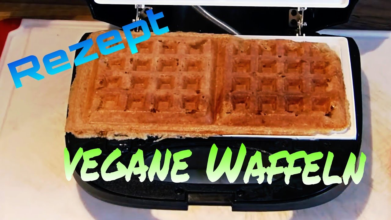 vegane waffeln das rezept glutenfrei zuckerfrei fettfrei youtube. Black Bedroom Furniture Sets. Home Design Ideas