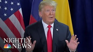 President Trump Accuses Democrats Of Trying To Derail Kavanaugh's Nomination | NBC Nightly News