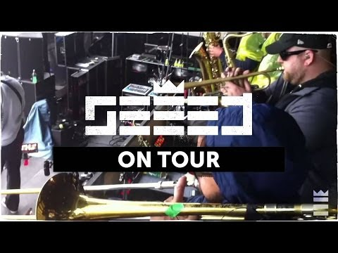 On Tour... Seeed + Cold Steel!
