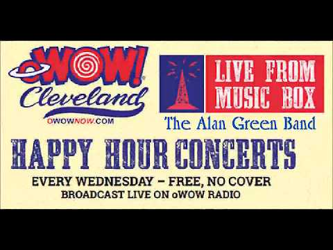 The Alan Greene Band - oWOW Happy Hour Concert - The Music Box Supper Club 8.9.2017