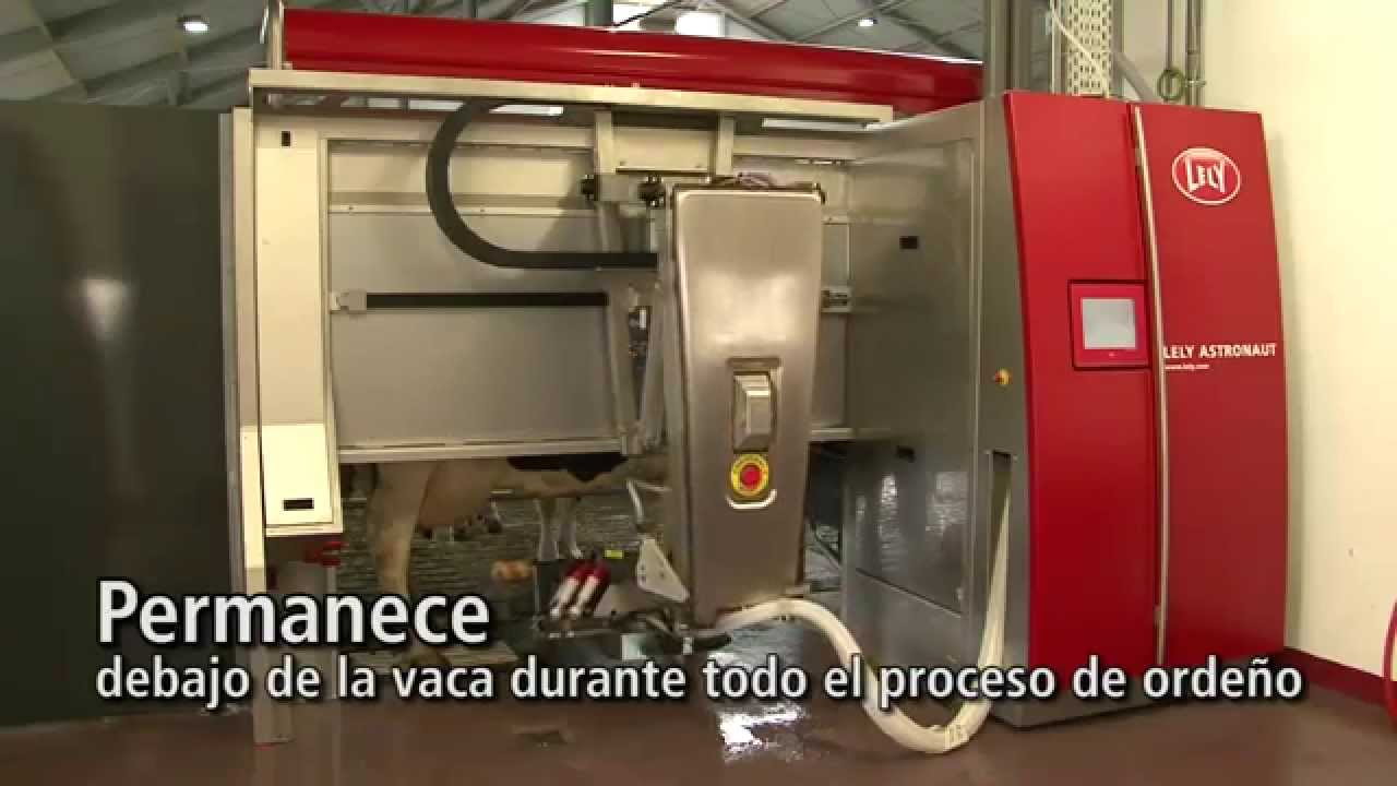 Lely Astronaut A4 - Milking robot arm (Spanish)