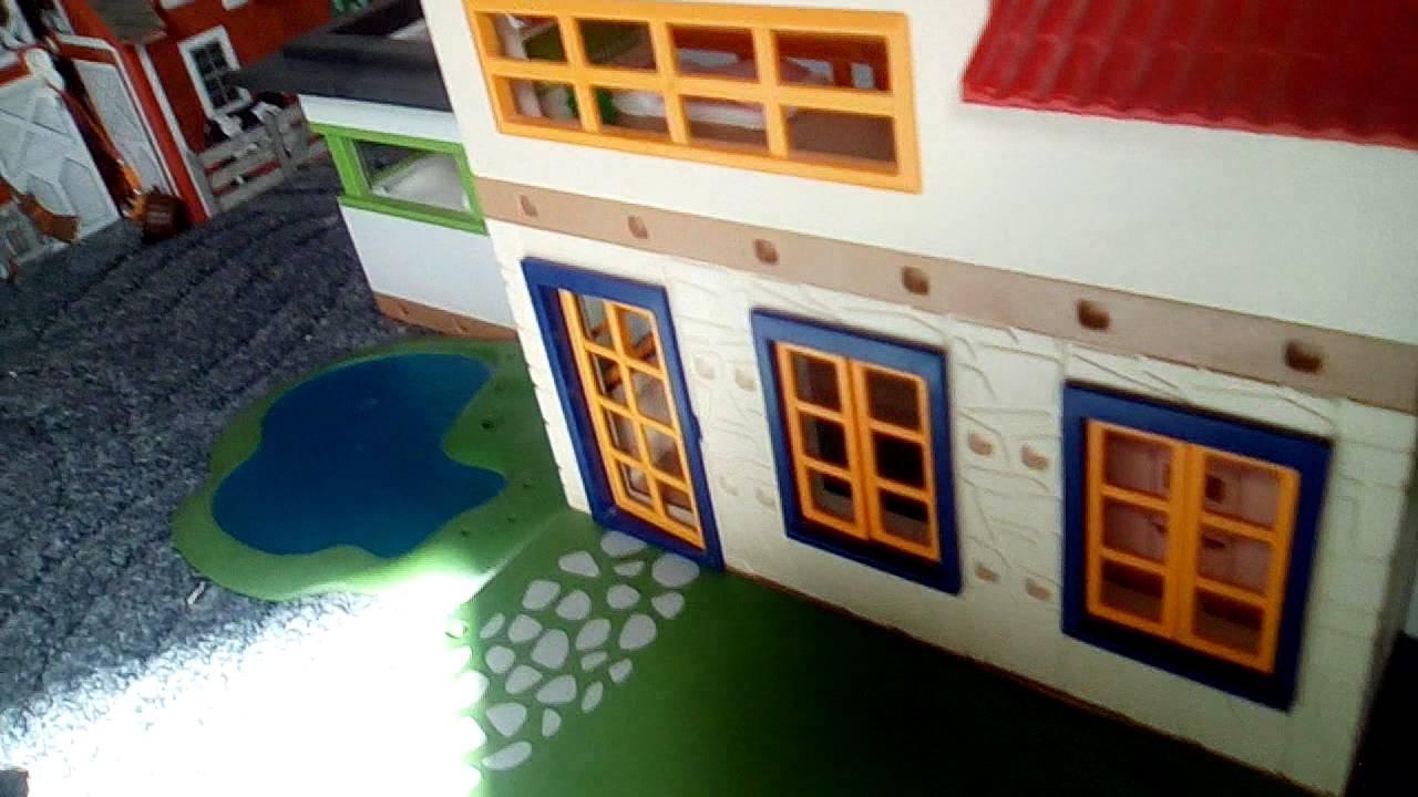 Hauseinrichtung  Playmobil Sommer Haus einrichtung - YouTube